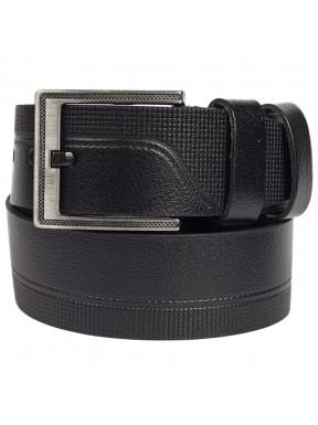 Ремень кожаный GRASS джинсы 5 см 2038-01 черный