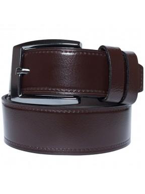Ремень кожаный GRASS джинсы 4см 4-2028-02 коричневый