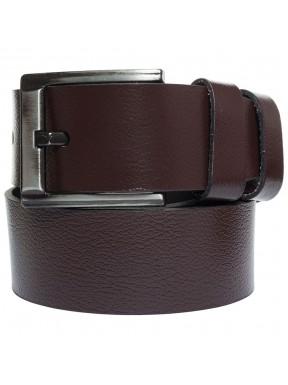 Ремень кожаный GRASS джинсы 5 см 2090-02 коричневый