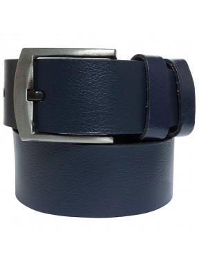 Ремень кожаный GRASS джинсы 5 см 2090-09 синий