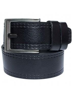 Ремень кожаный GRASS джинсы 5 см 3000-01 черный
