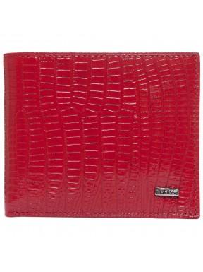 Визитница кожа GRASS 516-34 красный лазер