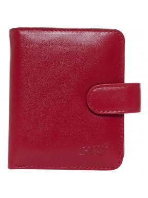 Визитница+ портмоне кожа GRASS 519-5 красный гладкий