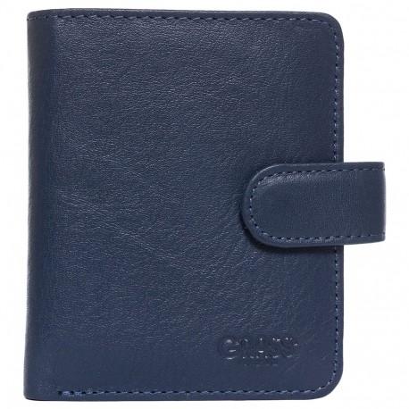 Визитница+ портмоне кожа GRASS 519-18 синий флотар