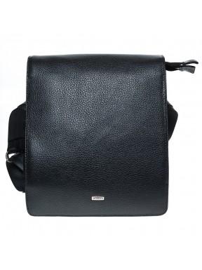 Барсетка кожа мягкая DESISAN 1310-01 черный флотар