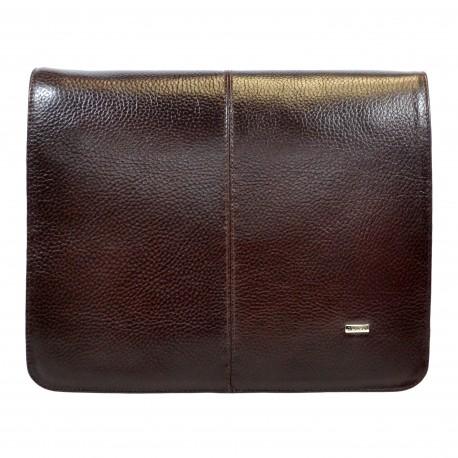 Сумка мягкая А4 формат 1319-019 коричневый флотар