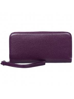 Кошелек женcкий кожаный CANPEL 706-95 фиолетовый флотар
