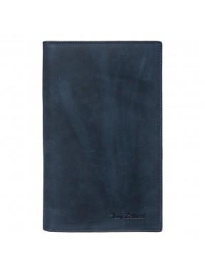 Портмоне кожа Tony Bellucci 145-03 синий нубук