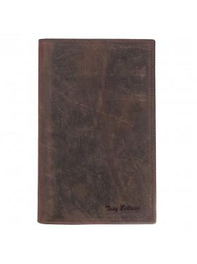 Портмоне кожа Tony Bellucci 145-07 рыжий нубук