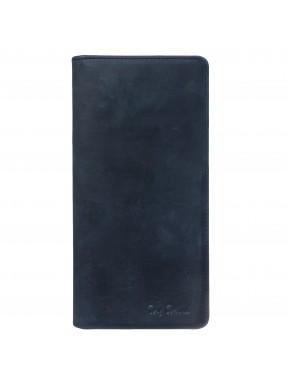 Портмоне кожа Tony Bellucci 873-03 синий нубук